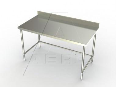 Work Table W/ 4in Backsplash (Economy Model)