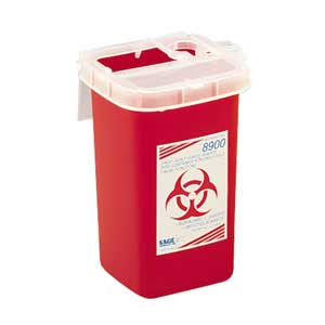 1 Qt Phlebotomy Sharps Containers