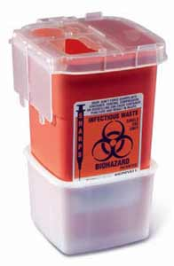 1.5 Quart Transportable Sharps Containers