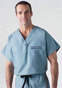 100 Percent Cotton Unisex Reversible Scrub Top
