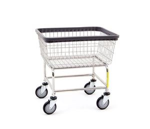 Standard Wire Rolling Laundry Cart