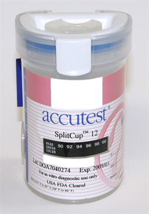 Drug Test Split Cup 12