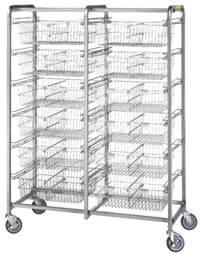 12 Basket Resident Item Cart