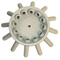 12-Place Test Tube Rotor