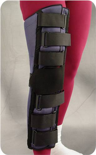 12in Knee Immobilizer w/ Patella Strap