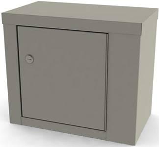 14in Single Door Narcotic Cabinet