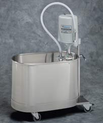 15 Gallon Mobile Extremity Whirlpool w/ Handle