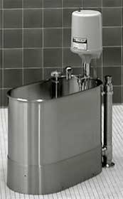 15 Gallon Stationary Podiatry Whirlpool