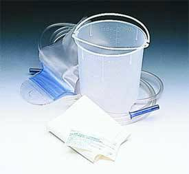 1500cc Enema Bucket w/ Castile Soap and Underpad