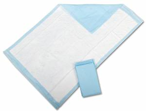 17in 24in Protection Plus Fluff Filled Disposable Underpads