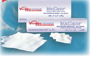 Heavier weight max-gauze non-woven sponges