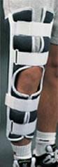 18in Knee Immobilizer w/ Patella Strap