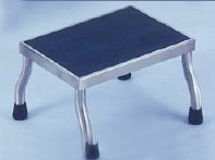 18in Wide MRI Compatible Foot Step Stool