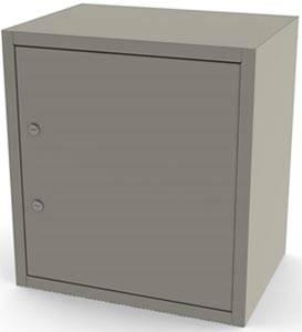 Single Door Double Lock Narcotic Cabinet