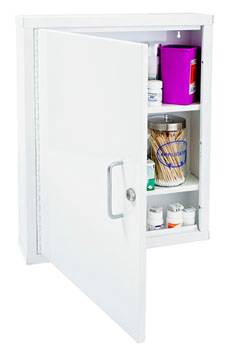 19in Single Lock Narcotic Cabinet