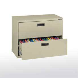 Lateral File Cabinet Two Drawers