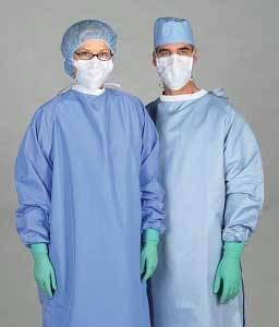2-Ply Blockade Surgeons Gown - Snap Neck and Back