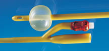 2-Way, Silicone-Coated Latex Foley Catheters, Sterile