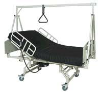 2 in 1 Bariatric Bed. Shown with Optional Trapeze