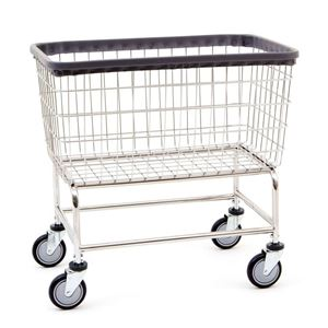 Large Capacity Wire Laundry Cart