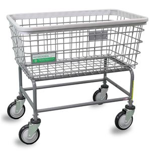 Antimicrobial Large Capacity Laundry Cart