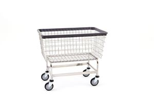Large 6 Bushel Wire Laundry Cart