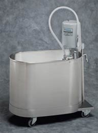 22 Gallon Mobile Extremity Whirlpool