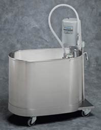 22 Gallon Mobile Podiatry Whirlpool