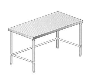 24in Wide Work Table Laminated Top