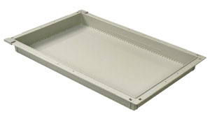 2in Gray Tray
