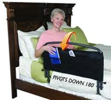 30in Safety Bed Rail & Padded Pouch