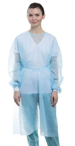 Isolation Gown Knit Cuff-XL