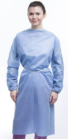 Isolation gown level 3- elastic cuffs