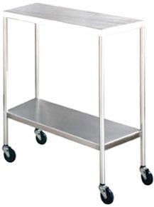 33in Stainless Steel Instrument Table Bottom Shelf