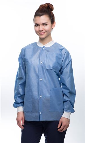 Easy-breathe lab jacket