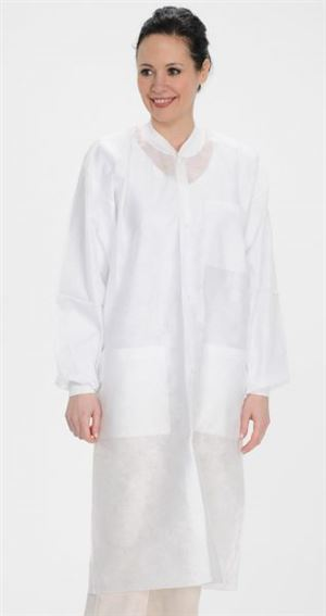 Easy-breathe sms lab coat