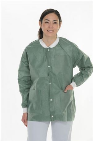 Extra-safe lab jacket