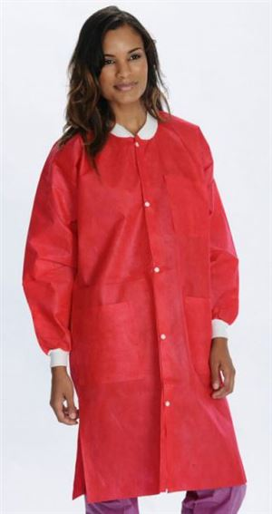 3 Pocket extra-safe sms lab coat