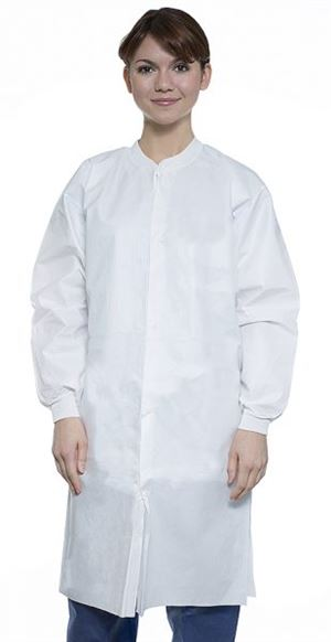 Liquid-guard lab coat- no pocket