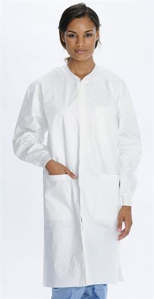 Liquid-guard lab coat