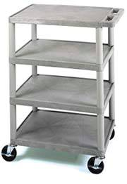 4-Shelf Utility  Banquet Cart