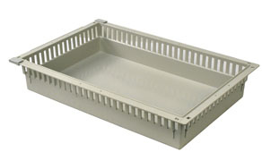 4in Gray Tray