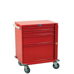 4-Drawer Cart w/ Breakaway Lock