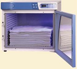 4.0 Cubic FT Capacity Blanket Warmer w/ Glass Door