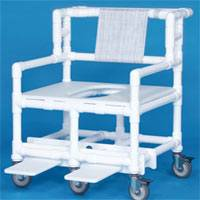 40in H Bariatric Shower Chair - 900 Lbs Capacity