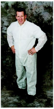 Spp polypro-2 coverall elastic cuffs & ankles