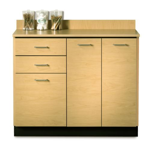 42in Base Cabinet w/ 3 Doors and 2 Drawers