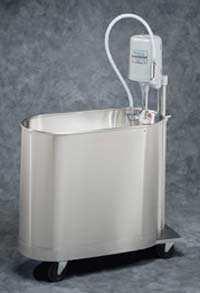 45 Gallon Mobile Extremity Whirlpool