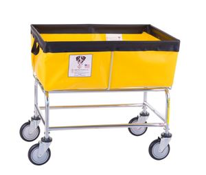 3 Bushel Elevated Laundry Basket Cart
