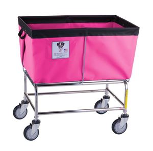4 Bushel Elevated Laundry Basket Cart